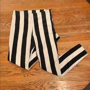 Black and White Striped Pants 🦓